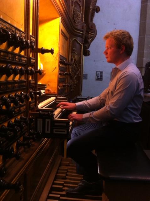 Jonge orgelvirtuoos op bezoek tijdens tweede Marktconcert