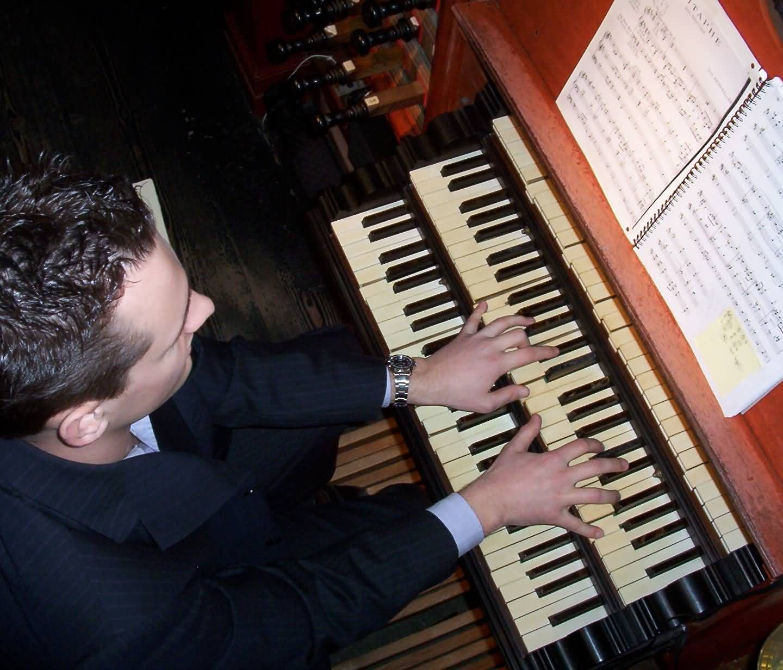 Zang en orgel in de basiliek