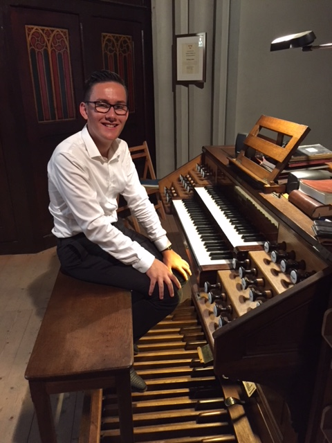 (Piep)jonge Zeeuwse orgelvirtuoos bezoekt Basiliek